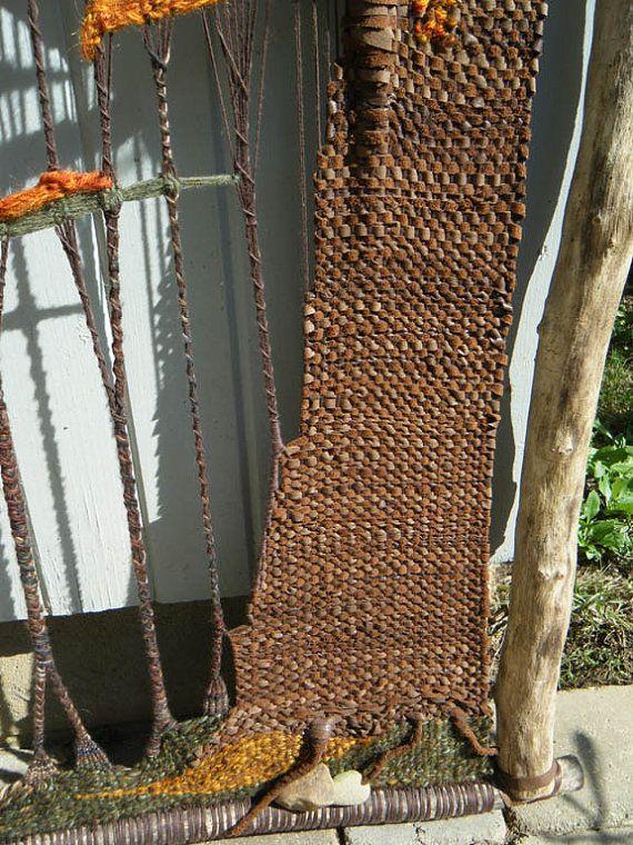 Matices de otoño tapiz wallhanging