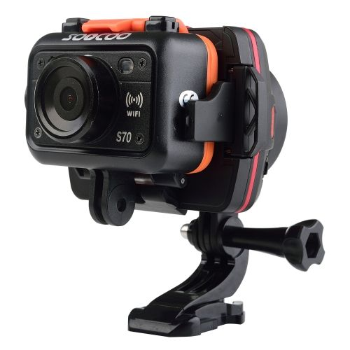[USD78.17] [EUR73.69] [GBP57.38] SOOCOO PS1 1-Axis Wearable Sports Action Camera Handheld Stabilizer Camera Mount for GoPro HERO4 /3+ /3 / SOOCOO S70 / BMPC / iPhone