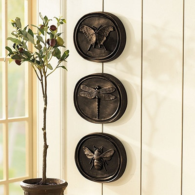 entomology wall plaques - Bedroom Wall Plaques