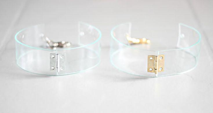 love-aesthetics.blogspot.com            DIY transparent neck cuff