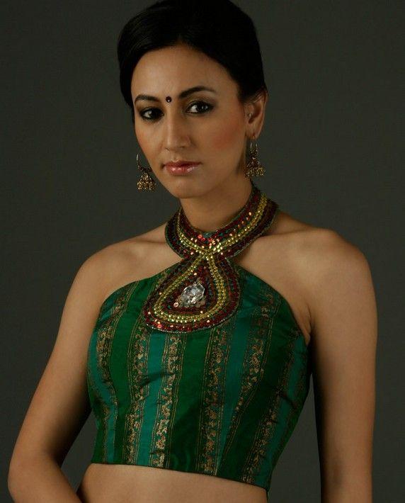 Cocktail saree blouse designs    saree blouse design