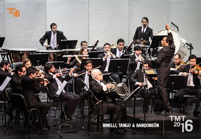 Homenaje a Piazzolla, Bandoneón, Daniel Binelli, OFT 2016