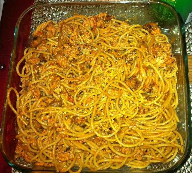 smoked mozzarella pasta with turkey sausage and smoked mozzarella ...