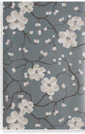Papier Peint Fleurs : papier peint direct, vente decoration murale et tapisserie murale de maison