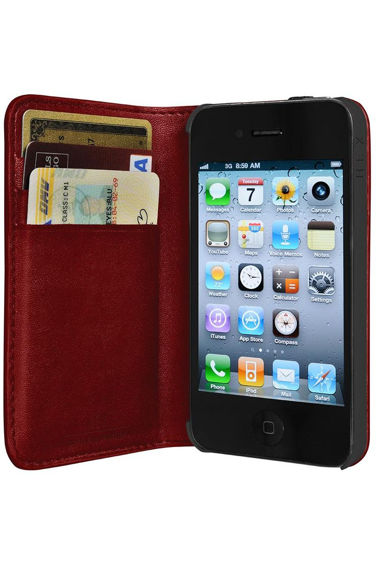 HEX HEX X FREEWIRED CODE WALLET FOR IPHONE 4/4S: Iphone Cases, Stuff, Leather Wallets, Iphone 4 4S, Wallets Cases, Hex Codes, Iphone Wallets, Codes Wallets, Products