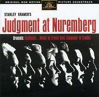 Judgment at Nuremberg Soundtrack CD