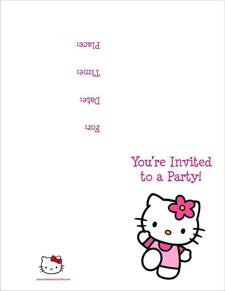 463 best birthday invitations template images on pinterest modelos birthday invitation maker software free download stopboris Gallery