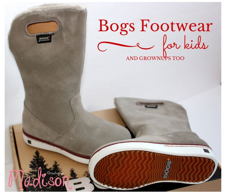 Growing up Madison: Bogs Boga - The Waterproof Winter Boots for Kids