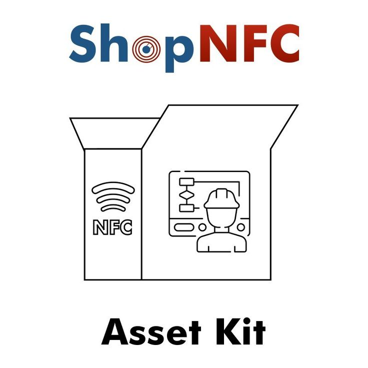 Asset Pack of assorted NFC Tags with the common feature of being durable and resistant in harsh environments. Ideal for making tests before a massive order.