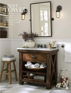 Pottery Barn - Bathroom Decor