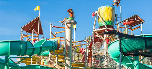 Cliff's Amusement Park, Albuquerque, New Mexico.  Enjoy thrilling rides, the best attractions, and awesome food