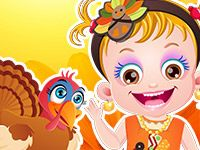 It's Thanksgiving Day! Baby Hazel needs your help to get a festive makeover. http://www.topbabygames.com/baby-hazel-thanksgiving-makeover.html