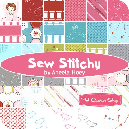 Sew Stitchy Fat Quarter Bundle Aneela Hoey for Moda Fabrics - Fat Quarter ShopFashion Fabrics, Aneela Hoey, Sewing Stuff, Sewing Stitchy, Bundle Aneela, Stitchy Yardage, Cs Sewing Projects, Yardage Aneela, Awesome Fabrics