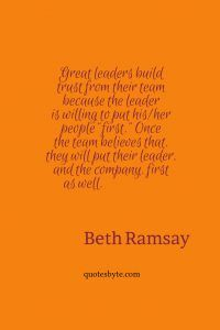 Leadership And Trust Quotes Leadership Quotes Quotes Leadership