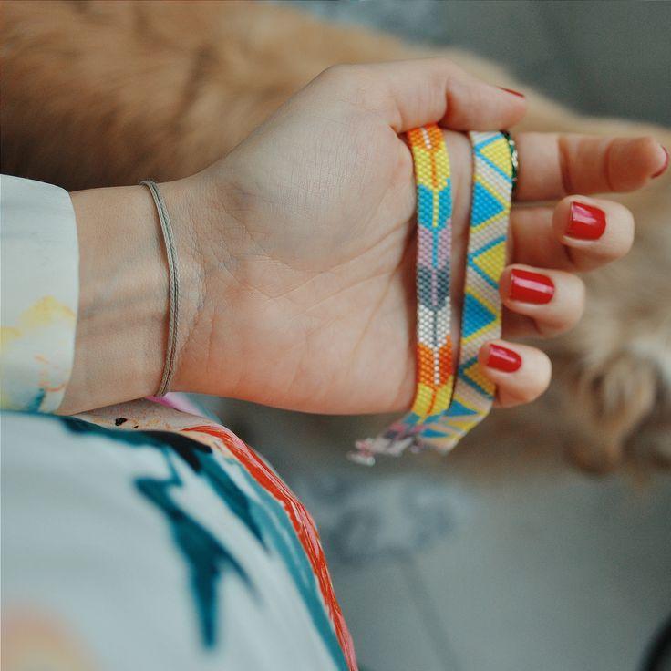 handmade miyuki bracelets
