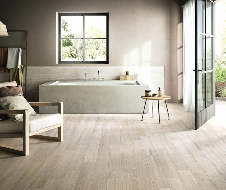 Argento Larch. A striking and fresh wood effect collection. You'll have to look twice to differentiate this from real wood.