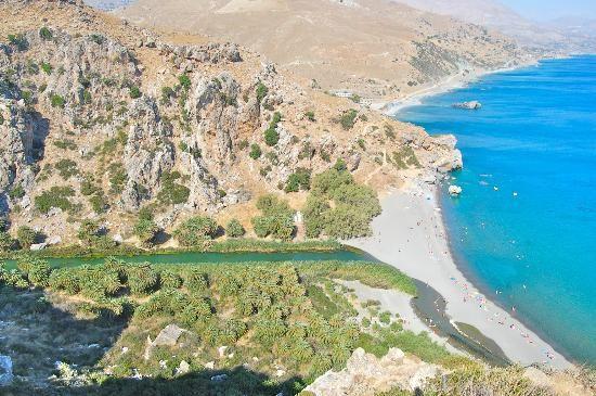 Preveli beach - Crete, Rethymnon, Greece