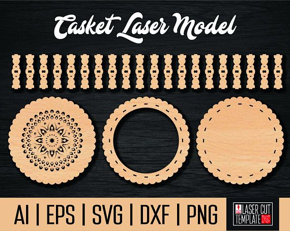 Сasket laser model. Casket cnc. Cnc project. Plasma projects.