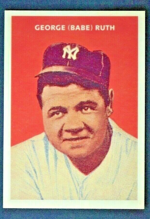 2019 Topps Series 1 Iconic Card Reprints Icr 4 Babe Ruth Mint From Pack Series1 Newyorkyankees Baseball Series Babe Ruth Baseball