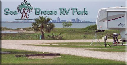 Sea Breeze RV - Wake up to sunshine, sea breeze, natural beauty, and a panoramic view of the Corpus Christi Bayfront.