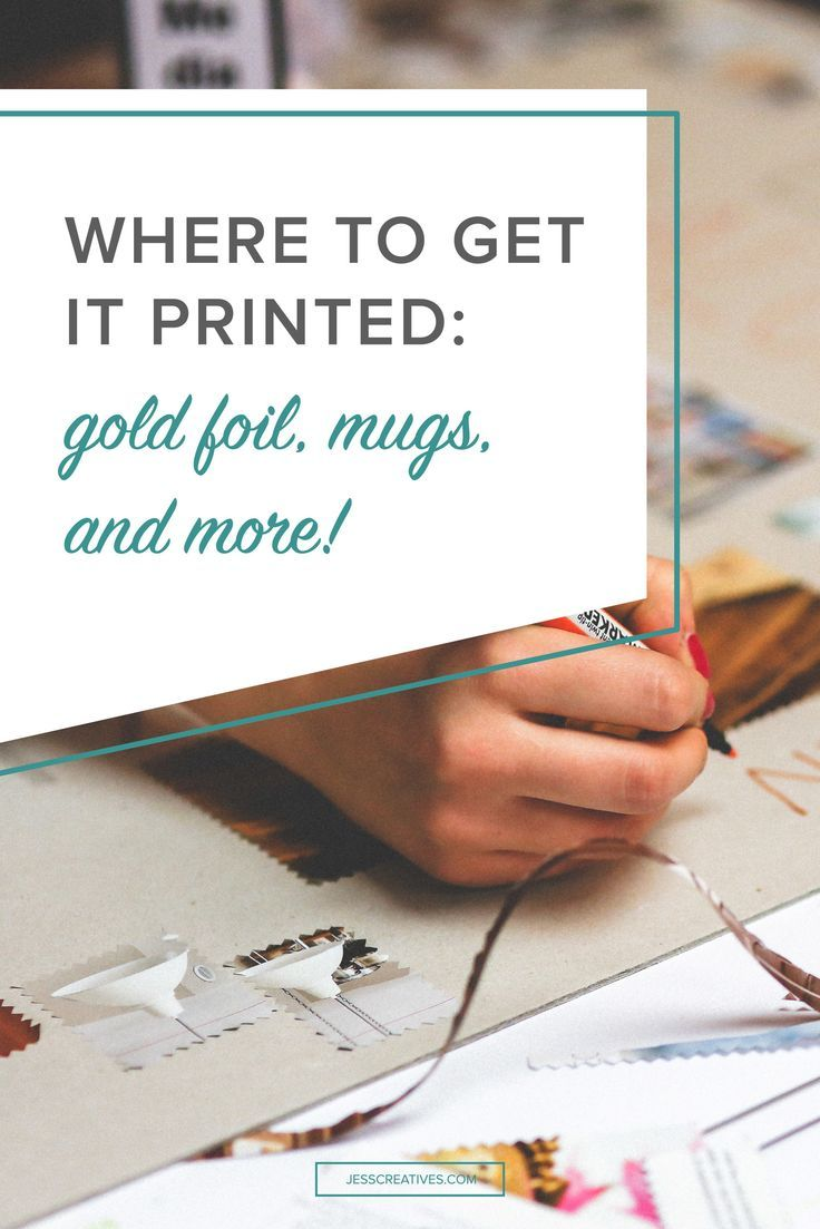 "As business owners, we love to send clients gifts or just have some ""promotional items"" on hand for events and trade shows. If you're not going to work with a local printer, there are plenty of great online printers that you can work with. Some printers s"