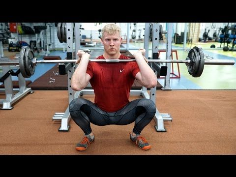 FRONT SQUAT VARIATIONS | How to Front Squat - YouTube