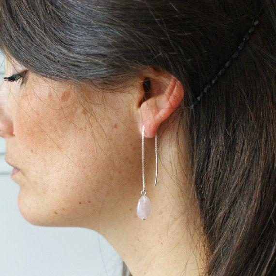 Boucles d'oreilles Victoria en argent massif par Pemberleybijoux