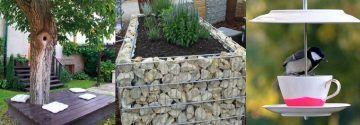 17 Tolle Ideen zum Selbermachen, die super in deinen Garten passen!