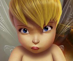 Pictures All Tinkerbell | angry, cute, fairy, tinkerbell - inspiring picture on Favim.com
