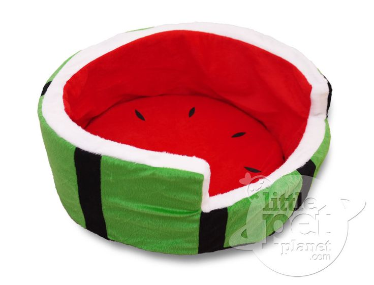 Watermelon Plush Pet Dog Bed - Dog Clothes, Small Dog Clothing, Dog Accessories - FREE SHIPPING WORLDWIDE