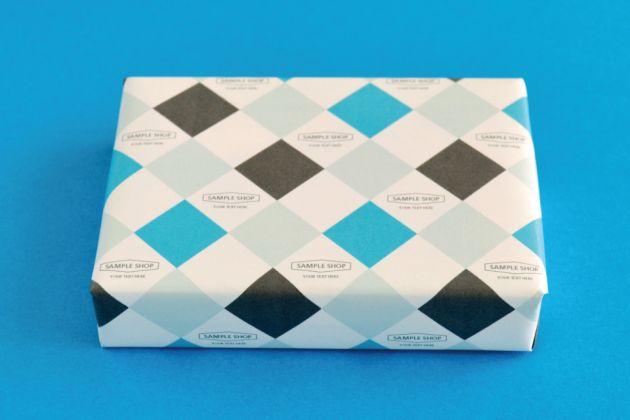ショップツール セミオーダー 包装紙 デザイン