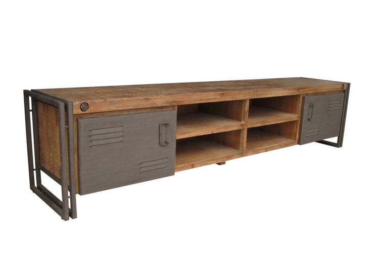 Industrial TV dressoir 220 cm