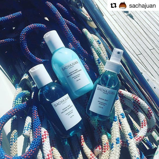 Are you ready for the week-end? With #Sachajuan  #averyperfumegallery #repost #haircare #shampoo #conditioner #oceanmist #oceanmisttechnology #nicheperfumery #capelli #hair #hairstyle #summer #sea #estate #mare #protezione #barca #boat #shoponline