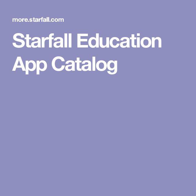 Starfall Education App Catalog