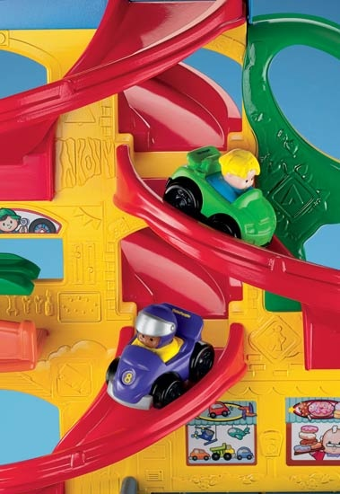 #My girls love this ...not just a toy for boys:)  Little People - hairpin turns, curvy ramps