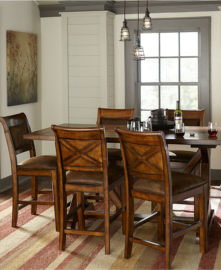 Macys Dining Room: Mandara Counter Height Dining Room Furniture