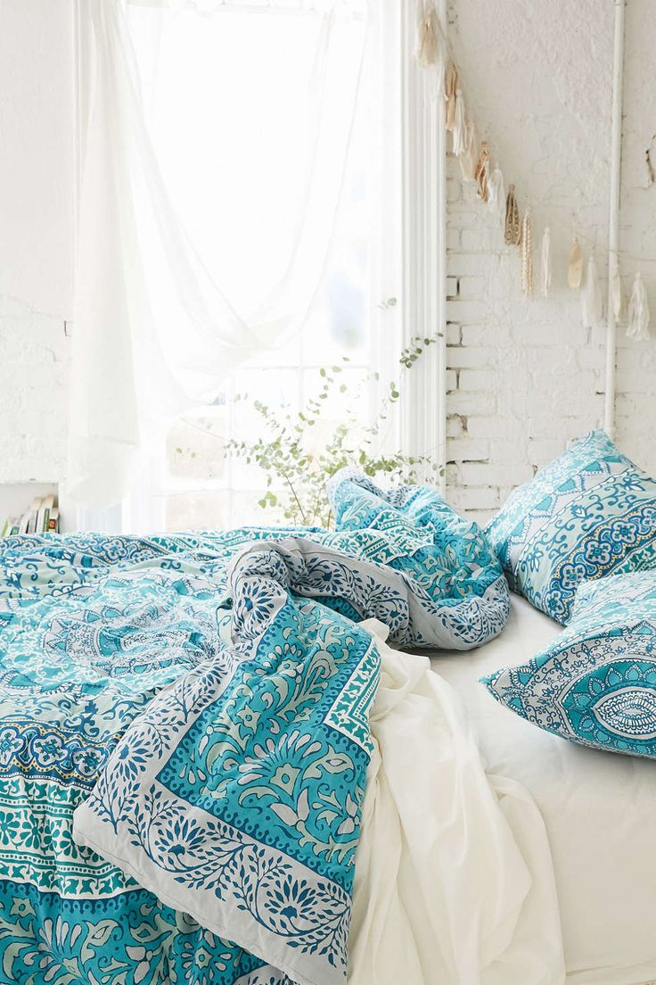 Blue bedspreads and comforters - Plum Bow Katara Medallion Comforter Bedspreads Comfortersturquoise Beddingturquoise Bedroomsblue