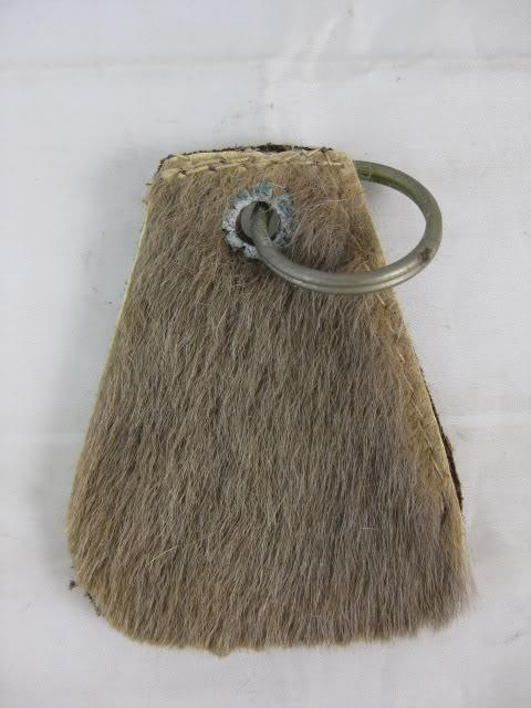 Kangaroo Leather Keyring.