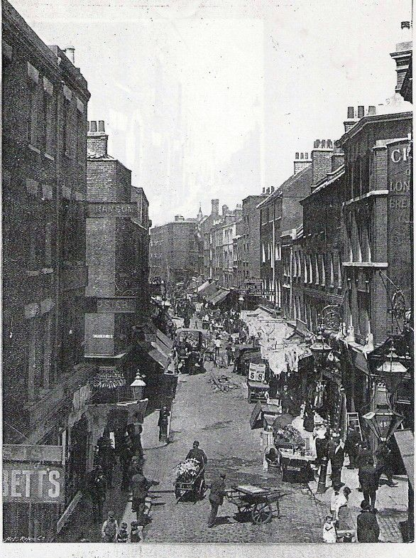 East End Photographs and Drawings - Page 46 - Casebook Forums. 1895, Brick Lane, London's East End.
