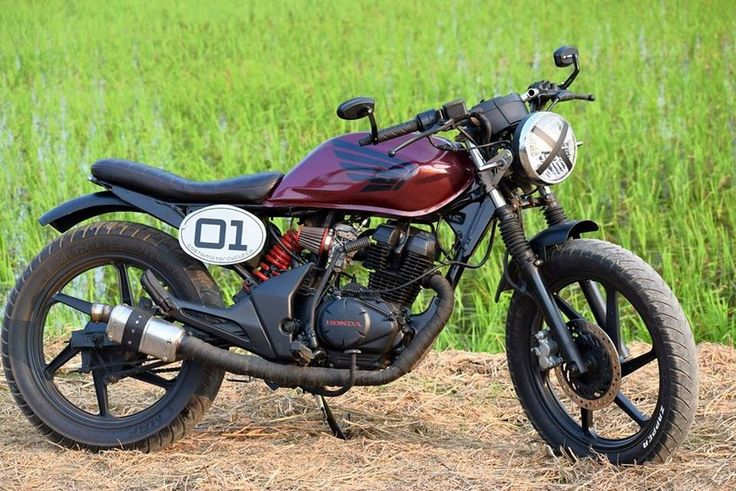 Honda Unicorn 150 Cafe Racer built by Costa Motorcycle Co