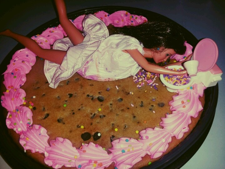 Cookie Cake Designs For St Birthday
