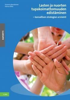Lasten ja nuorten tupakoimattomuuden edistäminen : kansallisen strategian arviointi / Susanna Nevalainen, Hanna Ollila. Tässä raportissa kuvataan miten koti, kunta, kirkot ja seurakunnat, apteekit, media ja nuorten tapahtumat, elinkeinoelämä, järjestöt ja valtiovalta ovat onnistuneet kansallisen strategian toteuttamisessa. Strategia on yhtenäistänyt käytäntöjä monin paikoin ja lisännyt savuttomuutta eri toiminta-alueilla.