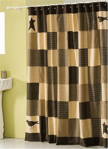 17 Best images about Country & Primitive Shower Curtain... on ...