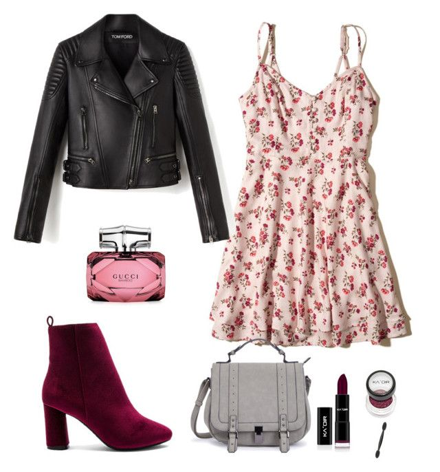 """""""Look for night  / Lydia Martin Style ❤  / Teen Wolf style"""" by camibg on Polyvore featuring Raye, Hollister Co. and Gucci"""