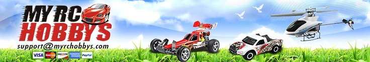 MyRCHobbys.com | Browse Our RC Hobby Store's Selection of Remote Control Cars and More