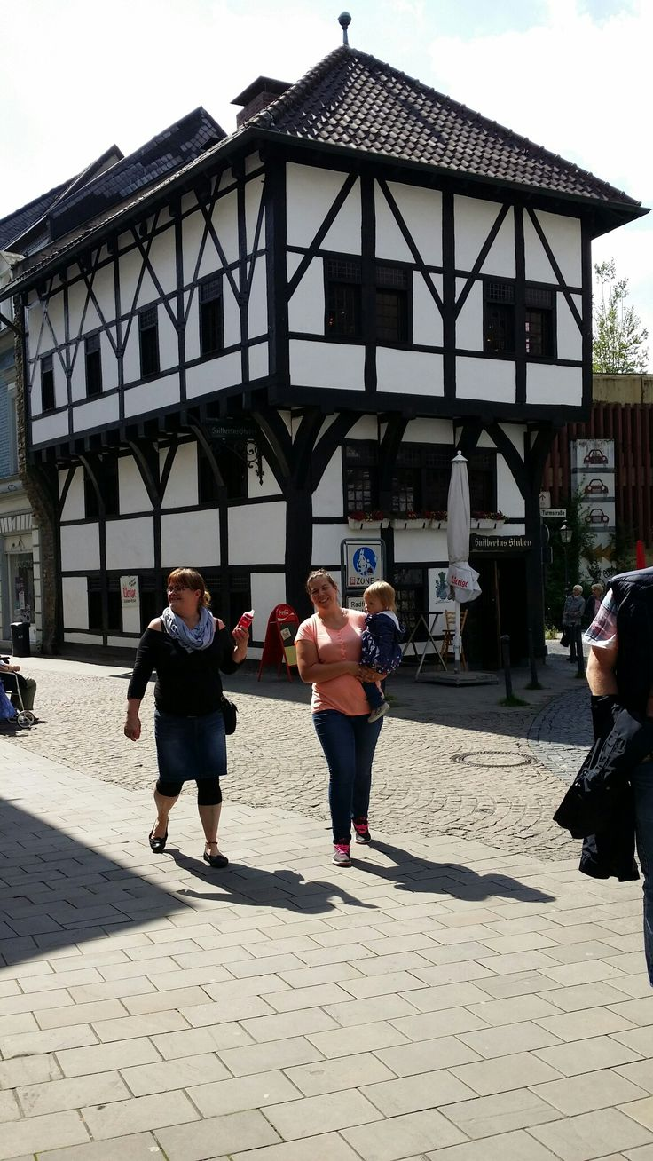 june the 19th,had a guided tour around Ratingen Germany by my cousin Marita and her son Marko...the oldest house of Ratingen.