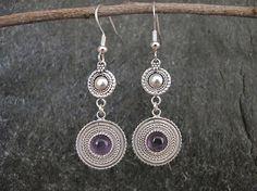 Jewelry, Filigree Silver earrings , Filigree earrings ,  Silver earrings,Yemenite earrings,Israel jewelry on Etsy, US$92,00