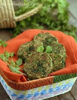 Let's give a healthy twist to the evergreen aloo tikki! using sprouted moong increases the nutrient-value by at least 15 per cent, while coriander and mint give an aromatic spin to the tale. Serve these fibre-rich tikkis hot and crisp, as soon as you prepare them.