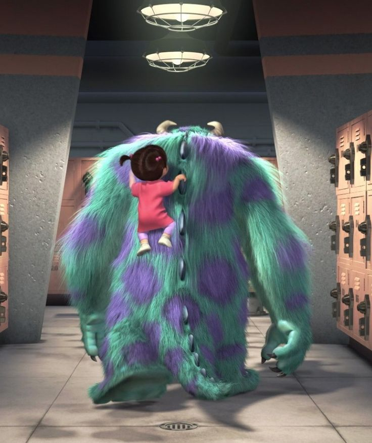 BOO & SULLEY ~ Monsters Inc., 2001