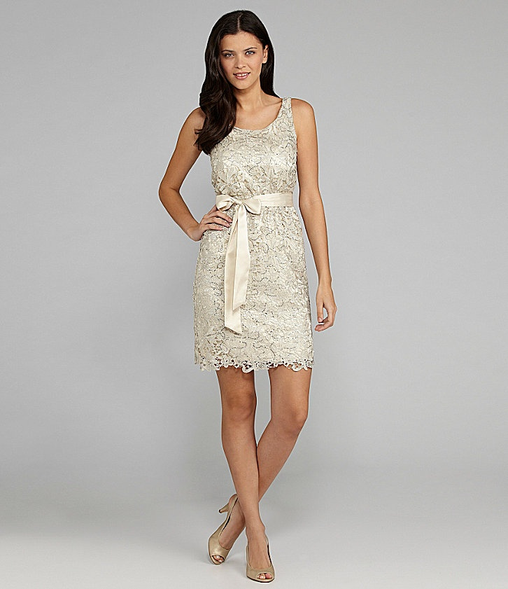 Dillards: MM Couture by Miss Me Lace Scoopback Dress $119